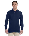 437ML Jerzees 5.6oz., 50/50 Long-Sleeve Jersey Polo with SpotShield™