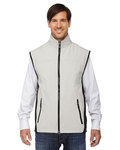88127 - North End Men's Three-Layer Light Bonded Performance Soft Shell Vest