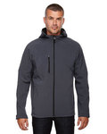 88166 - North End Men's Prospect Two-Layer Fleece Bonded Soft Shell Hooded Jacket