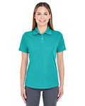8445L - UltraClub Ladies' Cool & Dry Stain-Release Performance Polo