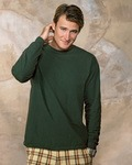 5186 Hanes Adult 6.1oz Long-Sleeve Beefy-T