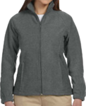 M990W Harriton Ladies' 8oz. Full-Zip Fleece
