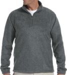 M980 Harriton Quarter-Zip Fleece Pullover