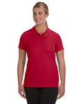 W1709-old Alo Sport Ladies' Performance Three-Button Mesh Polo